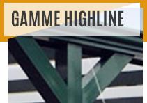 Pergolas - Gamme Highline