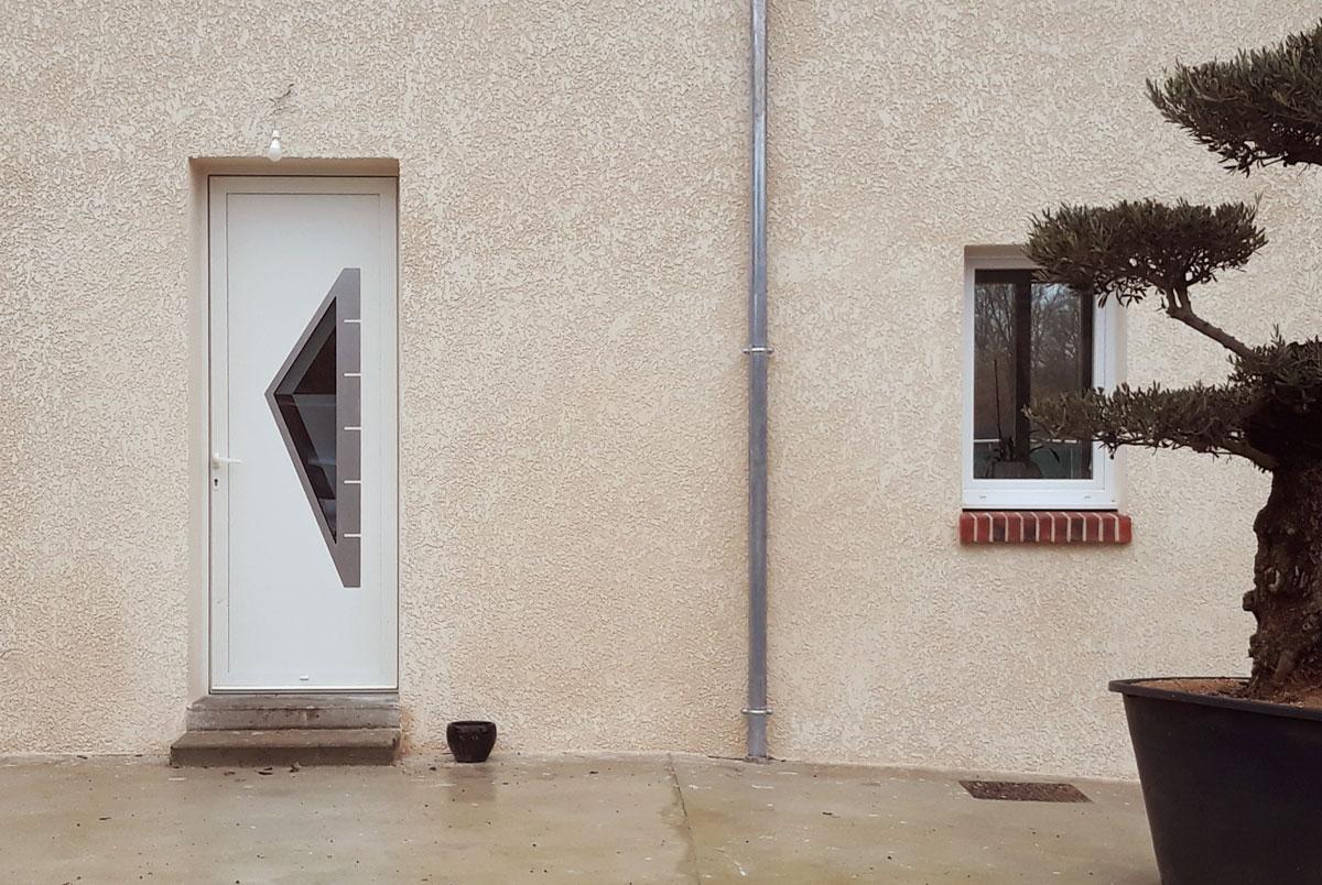 Porte entrée - Dupont Habitat